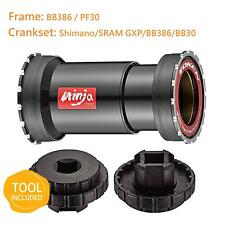 TOKEN Thread Fit Ceramic Bottom Bracket PF30/BB386/BBright/Shimano/BB386/BB30