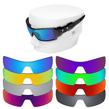 OOWLIT Iridium Replacement Lenses for-Oakley Oil Rig Sunglasses Polarized