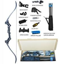 Topoint Archery Takedown Recurve Bow Package R3 Ready To Shoot for Archery Bo...