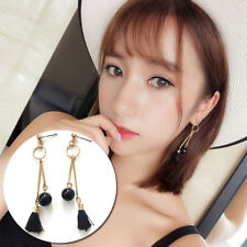 1 Pair Fashion Earring Candy Colors Long Section Tassel Pear