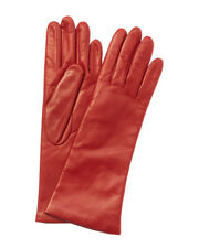 Portolano Women's Red Leather Gloves
