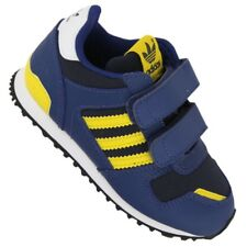 ADIDAS ORIGINALS ZX 700 Children's Sneakers g95287 Blue Yellow Flux 750 Shoes 21