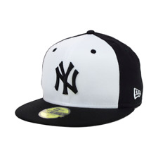New York Yankees New Era MLB High Crown 59FIFTY Fitted Cap Hat Black NWT
