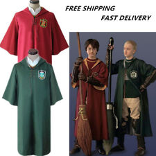 Harry Potter Cloak Gryffindor Slytherin Cape Quidditch Costume Cosplay Clothes