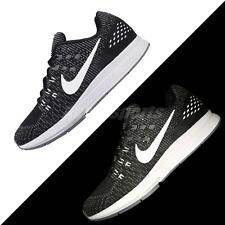 Nike Air Zoom Structure 19 Black White Mens Cushion Running Shoes 806580-001