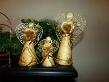 VNTG. HAND CRAFTED ANGELS VICTORIAN MADE IN THE PHILIPPINES GRADUATING. ESTATE