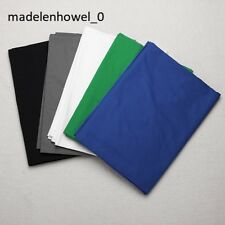 5 Colors Screen/Chromakey Backdrop 6x9 Muslin Video Background