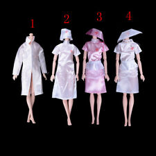 Doctor Clothes Dress Outfit For Barbie Doll Handmade Chirstmas Gift Fashion