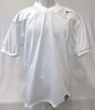 College Authentic Blank Football Youth Jersey All White