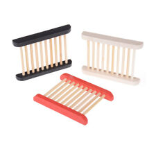 Trendy Trapezoid Wooden Soap Dishes Natural Wood Soap Box Bath Holder  QW