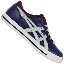 Asics Onitsuka Tiger Aaron d3c3j-5011 CASUAL SHOES TRAINERS Navy Grey 40,5