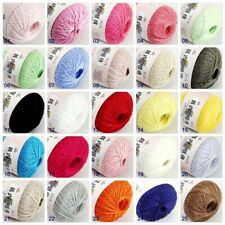 Hot Sale Soft 1ballx50g Hand Cotton Lace Wool Yarn Crochet Shawl Scarf Knitting