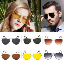 Unisex Retro Fashion Aviator Sunglasses Eyewear Shades Party Mens Womens Holiday