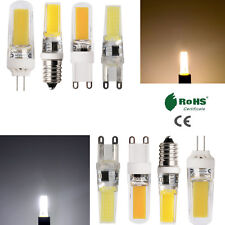 Dimmable LED Light Bulbs Silicone Crystal G9 G4 E14 8W 10W 110V 220V White Lamps