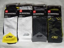 New UA Under Armour SC30 Steph Curry Basketball Crew Socks 2 Pack Large 9-12.5