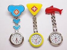 Cute, Nurse Clip-On Fob Watch, Choose Your Style!