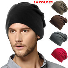 Fashion Winter Women Men Beanies Knitted Warm Oversize Ski Slouch Cap Baggy Hat