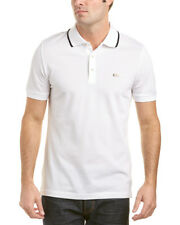 Burberry Adeley Tipped Collar Cotton Pique Polo Shirt