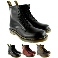 Womens Dr Martens 1460 Classic Lace Up Leather Ankle Army Boots UK Sizes 3-8