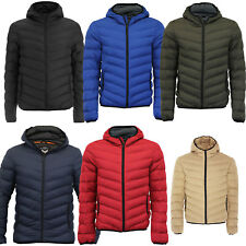 NEW Boys Brave Soul Puffer Bubble Threadbare Hooded Quilted Padded Jacket Coat