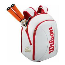 Wilson 100 Year Tour S Tennis Bag - White/Red - RRP: £50.00