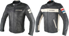 Dainese Mens HF D1 Soft-Armored Perforated Leather Jacket