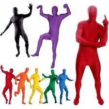 Full Body Adult Party Fancy Dress Costume Morph Costume Second Skin Suit 8 color