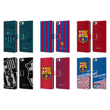 OFFICIAL FC BARCELONA 2017/18 CREST LEATHER BOOK WALLET CASE FOR XIAOMI PHONES