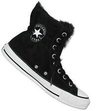CONVERSE ALL STAR CHUCK TAYLOR CT CLR Scrunch Hi Black Winter Shoes Padded