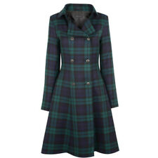 Ladies New Scotland Made Kate Coat In Tartan in All sizes