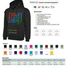Design your own Custom printed hoodie.  **FREE DELIVERY** £12.99 start price