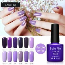 BELLE FILLE 10ml UV Nail Art Color Gel LED Soak Off Gel Polish Manicure Varnish