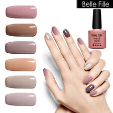 BELLE FILLE Lacquer Nude Color  UV LED Gel Nail  Gel Polish Manicure Nail Art