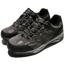 Hi-Tec Wild-Fire Low I WP Waterproof Charcoal Black Mens Outdoors Trail Shoes