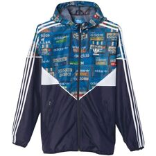 Adidas Originals Colorado Windbreaker Trefoil Jacket Shoebox Blue