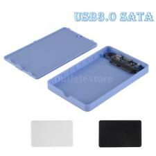 "USB 3.0 2.5"" SSD HDD External Enclosure Case Hard Disk Drive Box Tool-free I0T9"