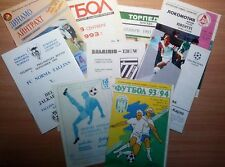 UEFA Cup 1992 - 2000 MATCH PROGRAMMES UPDATED FEBRUARY 2018