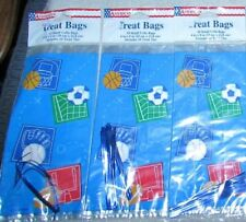 American Treat Cello Bags Sports theme / Solid Blue