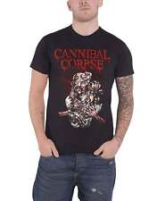 Cannibal Corpse T Shirt Stabhead Band logo new Official Mens Black