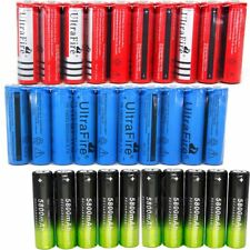 18650 Battery Charger 3.7V Rechargeable Li-ion For Flashlight Torch Batteries _