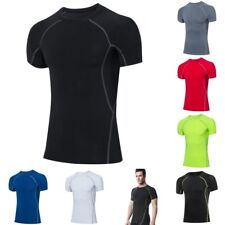 Mens Compression Tights Athletic Base Layers Sports Tops Shirt Quick-dry K1912