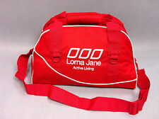 Lorna Jane Womens  Sports Athletic Weekend Overnight Travel Bag Ruby RRP65.99
