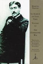 In Search of Lost Time, Vol. 3: The Guermantes Way, Marcel Proust, Good Conditio