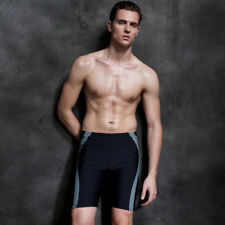Swim Trunk Men Fashion simple quick-drying professional Competition trunks