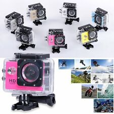 HD 1080P Action Bike Helmet Sports Waterpoof Dash Cam DV Video Recorder Camera