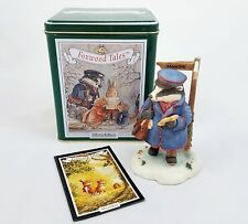 Villeroy & Boch Foxwood Tales Winter at Foxwood Mr Gruffey Figure Late Delivery