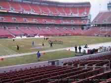 Cleveland Browns Tickets vs Steelers 9/9 only 8 rows from field in section 104 !