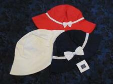 NWT 6-8 Janie and Jack Marina Rose Red Riviera Vacation Navy White Sun Hat