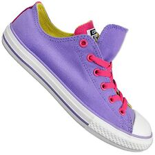 Converse All Star Chuck Taylor Double Tongue Ox Shoes Purple Pink Chucks Sneaker