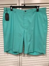 NWT Greg Norman Green Stripe Golf Shorts Size 38, 40, 42 MSRP $ 69